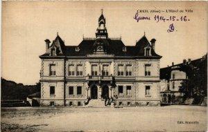 CPA CREIL-L'Hotel de Ville (423505)