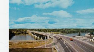 PRINCE ALBERT , Saskatchewan , Canada , 50-60s ; New Bridge