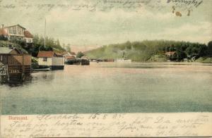 sweden, SKURUSUND, Panorama (1905) Stamp