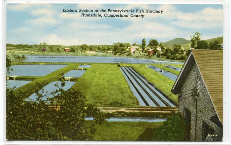 Fish Hatchery Huntsdale Cumberland County Pennsylvania