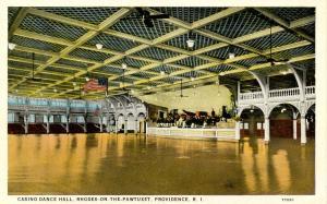 RI - Providence.  Casino, Rhodes-on-the-Pawtuxet, Dance Hall Interior