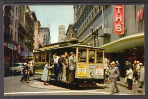 Cable Car on Turntable,San Francisco,CA BIN