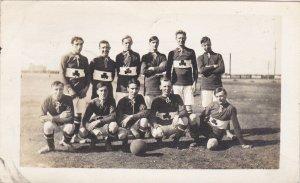 RP: CALGARY , Alberta , Canada , 1914 ; P. Burns Co. Football Team