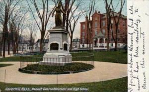 Hannah Duston Monument and High School,Haverhill,Massachusetts,00-10s