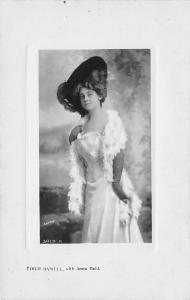 Edith Daniell~Victorian Actress~A Parisian Model on Stage 1908~Real Photo~RPPC