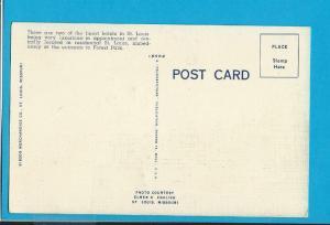 Postcard Park Plaza Chase Hotel St Louis Missouri   # 300
