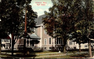 Massachusetts Attleboro High School 1910