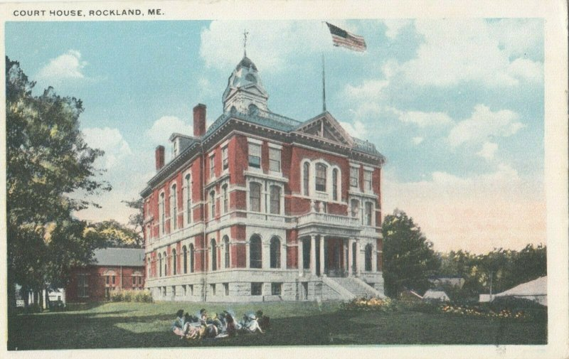 ROCKLAND , Maine , 1910s ; Court House