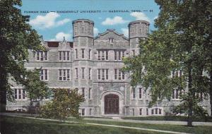 Tennessee Nashville Furman Hall Vanderbilt University