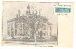 Brockton Court House, Brockton, Massachusetts, Pre-1907