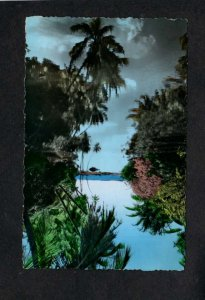 Martinique River Schoelcher Martinique French West Indies Postcard Carte Postale