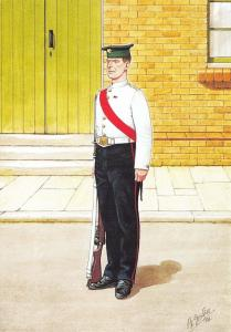Military Art Postcard The Irish Guards Sergeant, London 1903 #30-1