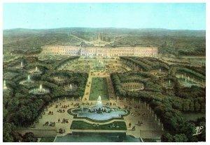 Vintage Versailles Palace of France Souvenir Colored Postcard