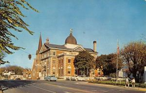 Christiansburg Virginia Montgomery Court House Vintage Postcard K61942