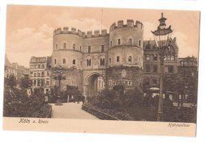 Koln Hahnentor City Gate Cologne Th Creifelds c1905