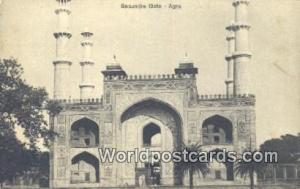 Agra, India Secundra Gate  Secundra Gate