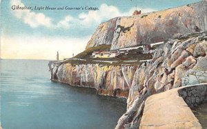 Light House and Governor's Cottage Gibraltar Unused