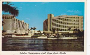 Miami Beach, Florida , 40-60s ; FONTAINBLEAU Hotel