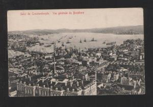 077932 TURKEY CONSTANTINOPLE Bosphore view Vintage PC