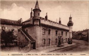 CPA AK YSSINGEAUX L'Hotel de Ville Ancien Chateau des Eveques du PUY (658061)