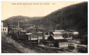 Vermont  Bellows Falls   Hydro Electric power System