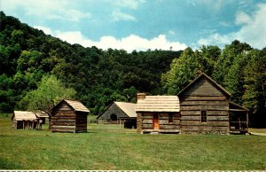 North Carolina Cherokee Smoky Mountain Pioneer Farm