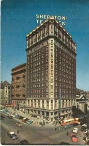 Sheraton Ten Eyck Hotel, Albany New York 1950s unused Pos...