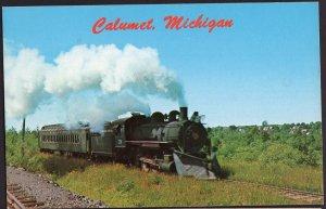 Michigan CALUMENT Keweenaw Central Steam Train - Chrome
