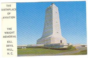 The Wright Memorial Monument, Kill Devil Hill, North Carolina, 40-60s