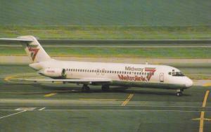 CHICAGO, Illinois, 1950-1970's; Midway Metrolink DC-9-31, Airplane