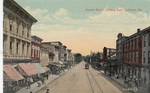 SUNBURY ,Pennsylvania , 1900-10s ; Market Street #2