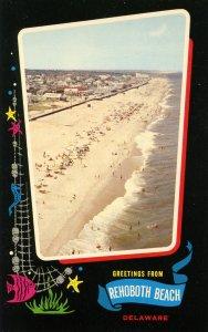 DE - Greetings from Rehoboth Beach, Delaware