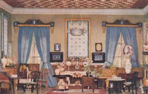 TUCK's Titania's Palace Series , UK , 00-10s ; Miniature Doll House ; Boudoir