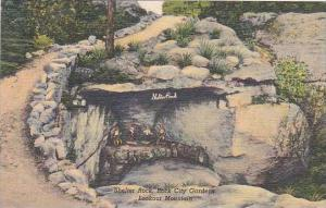 Tennessee Chattanooga Lookout Mountain Shelter Rock Rock City Gardens