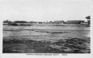 Pakistan Roberts Barracks Peshawar Panorama Postcard