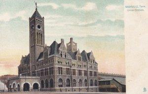 NASHVILLE , Tennessee, 1900-10s ; Union Railroad Train Depot ; TUCK 5195
