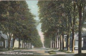 NORTHFIELD , Vermont , 1900-10s ; Central Street