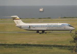 AEROPOSTAL, DC-9-32, unused Postcard