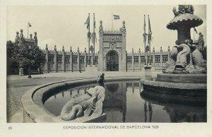 Postcard exhibitions Exposicion internacional Barcelona 1929 palace Disputacione