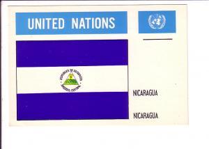 Nicaragua, Flag, United Nations