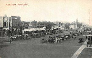 LP12   Onawa   Iowa Postcard  Main St. View