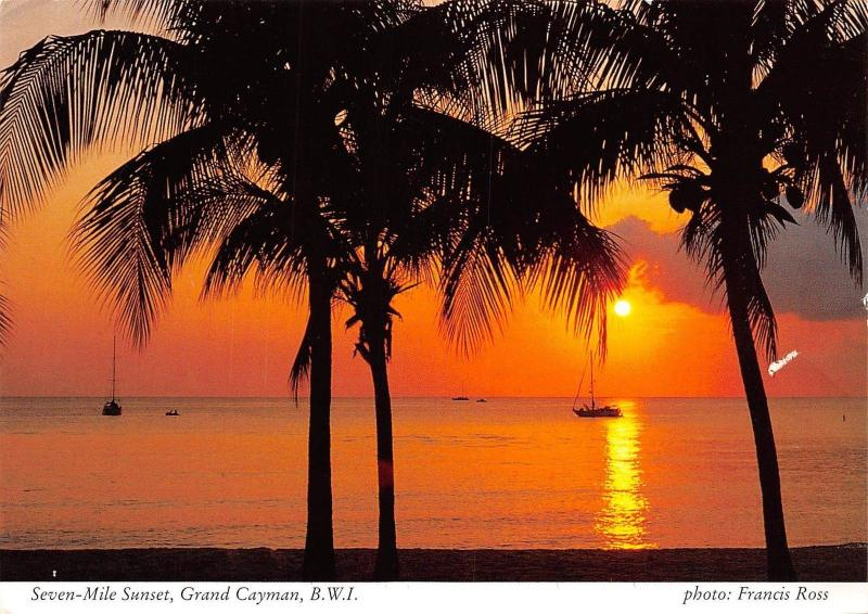 Grand Cayman Seven Mile Sunset B.W.I
