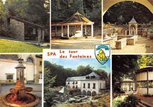Belgium Spa Le tour des Fontaines Fountain Perle des Ardennes