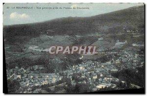 Old Postcard La Bourboule Vue Generale Jack Du Plateau Charlannes