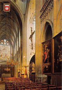 Belgium Antwerpen Cathedral Our Lady Interior view Liebfrauendom