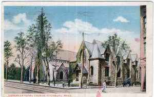 Fitchburg, Mass, Congregational Church