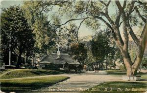 Eat Providence Rhode Island~Hunts Mills~The Old Elm Tree~1910 Postcard