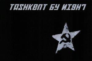 NEW Postcard, Soviet Tashkent USSR CCCP by Night, Humor, Novelty, Fun, Funny DL8