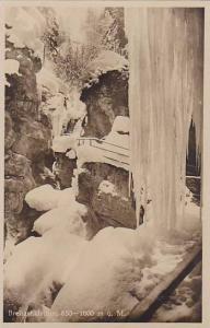 RP, Caves Covered On Ice, Breitachklamm, 850-1000 m.u.M., Germany, 1910-1920s