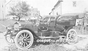 Old Vintage Shaker Post Card The Community's First Auto 1908 Selden prod...